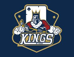Kings of Vegas by Marcin Marszalek | American Logo Sport Theme