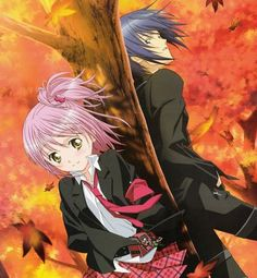 shugo chara-Amu and Ikuto
