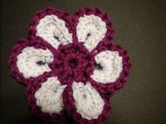Crochet-Cheerful Crochet Flower