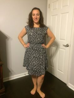 Stitch Fix Collective Concepts, Katelynn Polkadot Dress - love this color (don't love the red version)