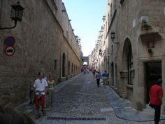 calle de los caballeros, Rodas Wheels, Knights, Street, Places