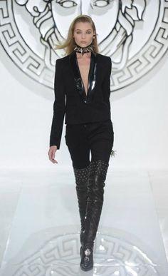 #Versace autumn/winter 2013 #Milan Fashion Week