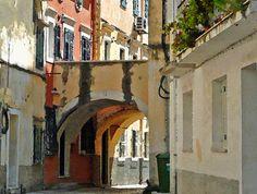 Corfu, back Street