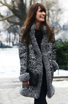 The perfect Chanel Jacket. #streetstyle