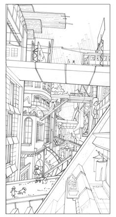 3 point perspective pen pinterest perspective drawings and