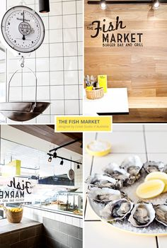 Inspiring Interior in a Fish Market with fresh yellow details | 79 Ideas