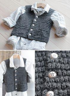 Strikkeblogg - Marte Helgetun Knitting For Kids, Baby Knitting, Baby Kind, Nordic Design, Baby Sweaters, Kind Mode, Baby Boys, Little Ones, Knit Crochet