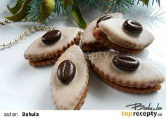 Kávovníčky recept - TopRecepty.cz White Chocolate Recipes, White Chocolate Mousse, Melting Chocolate, Slovak Recipes, Czech Recipes, Christmas Candy, Christmas Baking, Shortcrust Pastry, Mocca