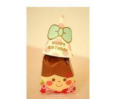 Korean Gift Bag Set - Cute girl x 20pcs