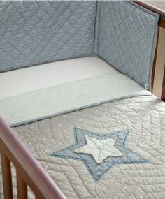 Bedding Set 3 Piece - Millie & Boris Blue