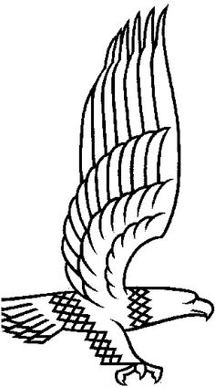 Eagle coloring pages 1