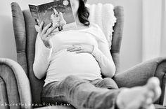 DIY Maternity Photos - A Burst of Beautiful