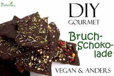 Wirklich ausgefallene vegane DIY Schokolade!