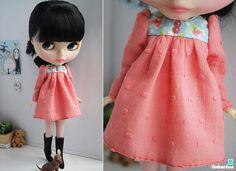 Pink Spring dress for Blythe