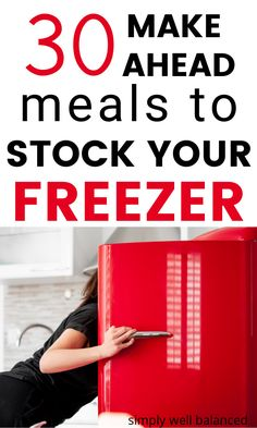 The best freezer meals for families. Easy freezer meal ideas and recipes perfect for new moms and busy families. A month's worth of simple freezer meals to make weeknight dinner fast. #freezermeals #makeaheadmeals #mealprep #weeknightdinner Make Ahead Freezer Meals, One Pot Meals, Easy Meals, Shrimp Stir Fry Easy, Freezer Smoothie Packs, Slow Cooker Shredded Chicken, Money Saving Mom, Easy Family Dinners, Fruit In Season
