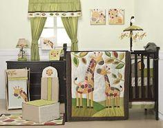 Kids Line 6 Piece Crib Bedding Set - Jungle Jigsaw :: Future Generations Baby Room Themes, Nursery Themes, Nursery Ideas, Baby Rooms, Room Ideas, Kid Rooms, Nursery Inspiration, Nursery Decor, Giraffe Nursery