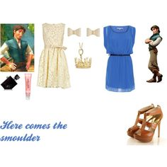 """Female Flynn Rider"" by madison-mh on Polyvore"