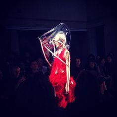 #ready #commedesgarcons #fashionshow #fashion #style #love #like #follow #emotion#pfw #paris #art