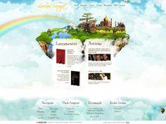 Site da Escritora Luciana Savaget. Criação e desenvolvimento Gustavo Girard - ArtWebRio.  web design, site, css, awards, html, inspiration, artwebrio, gustavo girard, layout   #web #design #site #css #awards #html #artwebrio #hotsite #inspirations #layout