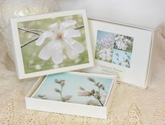 Mothers Day Gift  Greeting Card Set  Photo Note by SandieConry