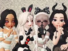 Best Friends, Halloween, Anime, Art, Notebooks, Beat Friends, Art Background, Bestfriends, Kunst