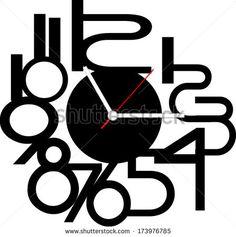 Creative clock design.