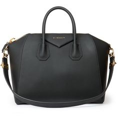 Givenchy Antigona Medium Faux-Leather Satchel (€1.845) ❤ liked on Polyvore featuring bags, handbags, purses, bolsas, accessories, black, apparel & accessories, vegan leather purse, faux leather satchel and givenchy bags