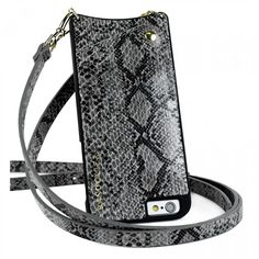 CYNTHIA Grey Faux Snakeskin 6 Plus - iPhone 6 Plus / 6 Plus S - Shop