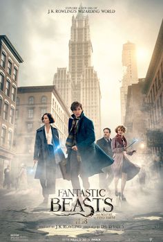 FANTASTIC BEASTS AND WHERE TO FIND THEM starring Eddie Redmayne,   In theaters November 4, 2016
