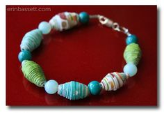 paper beads..love it and what they support..Children of Divine Grace of Uganda orphanages