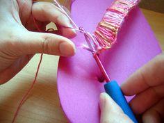 crochet your flipflops