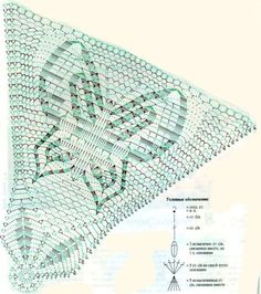 Diy Crochet Doilies, Crochet Doily Diagram, Crochet Chart, Crochet Home, Filet Crochet, Knit Crochet, Doily Patterns, Crochet Patterns, Crochet Butterfly Pattern