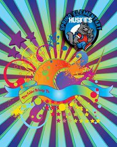 Huskies cool school folder Too Cool For School, I School, School Folders, Community Organizing, Husky, Cool Stuff, Husky Dog