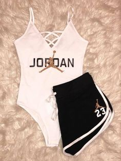 summer outfits with jordans 50 best outfits Lazy Outfits jordans outfits Summer Cute Nike Outfits, Cute Lazy Outfits, Baddie Outfits Casual, Swag Outfits For Girls, Girls Fashion Clothes, Sporty Outfits, Teenager Outfits, Teen Fashion Outfits, Stylish Outfits