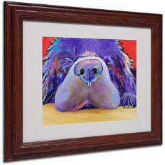 Trademark Fine Art Graysea Matted Framed Art by Pat Saunders, Size: 11 x 14, Multicolor
