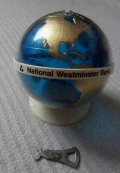 Nat West Globe money box