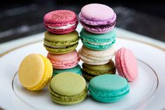 I would really like to learn to make macarons in 2012.
