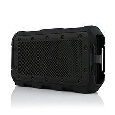 Braven BRVBLADE Wireless Portable Bluetooth Speaker 22 Hour PlaytimeWaterproof 4000 mAh Power Bank Charger  Black >>> ** AMAZON BEST BUY **