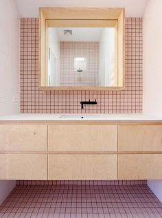 I Love This Tile Wall And Floor // High House, Fitzroy North, Melbourne,  Australia / Dan Gayfer Design
