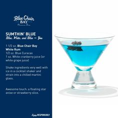 Kenny Chesney's Blue Chair Bay Rum!!!