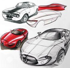 Design the Alfa Romeo