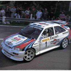 Franco Cunico - Stefano Evangelisti-Ford Escort RS Cosworth Gr.A-Team Jolly Club-Rally Internazionale di Messina 1995