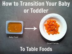 Your Kid's Table: How to Transition Your Baby (or Toddler) to Table Foods {Part 1}