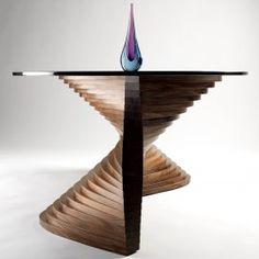 Sidewinder sculptural coffee table by David Tragen