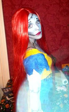 Sally. Nightmare Before Christmas