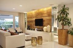 assim eu gosto painel tv madeira demolicao movel alca branca rasgo iluminacao