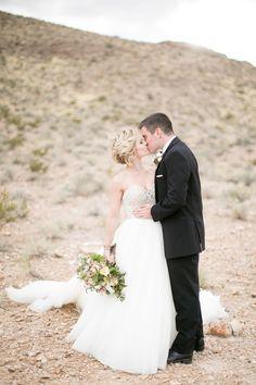 Photography: Kristen Joy Photography - www.kristenjoyphoto.com Photography: J. Anne Photography - www.j-annephotography.com  Read More: http://www.stylemepretty.com/2014/07/16/desert-romance-inspiration-shoot/