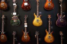 Guitar section - Musikmesse & Prolight + Sound Frankfurt 2014 Frankfurt #music #fair