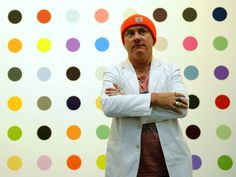 Damien Hirst admits creating art from his children's ideas