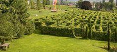 Labyrinthgarten - Kränzelhof - Tscherms - Südtirol